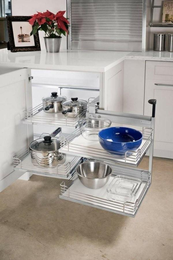Den Eckschrank Der Küche Komfortabel Gestalten  20 Ideen von Eckschrank Küche Selber Bauen Bild