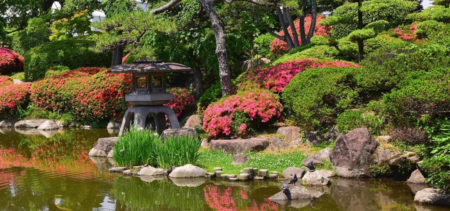 Der Japanische Garten  Zuhause Bei Sam® von Japanische Deko Für Garten Bild