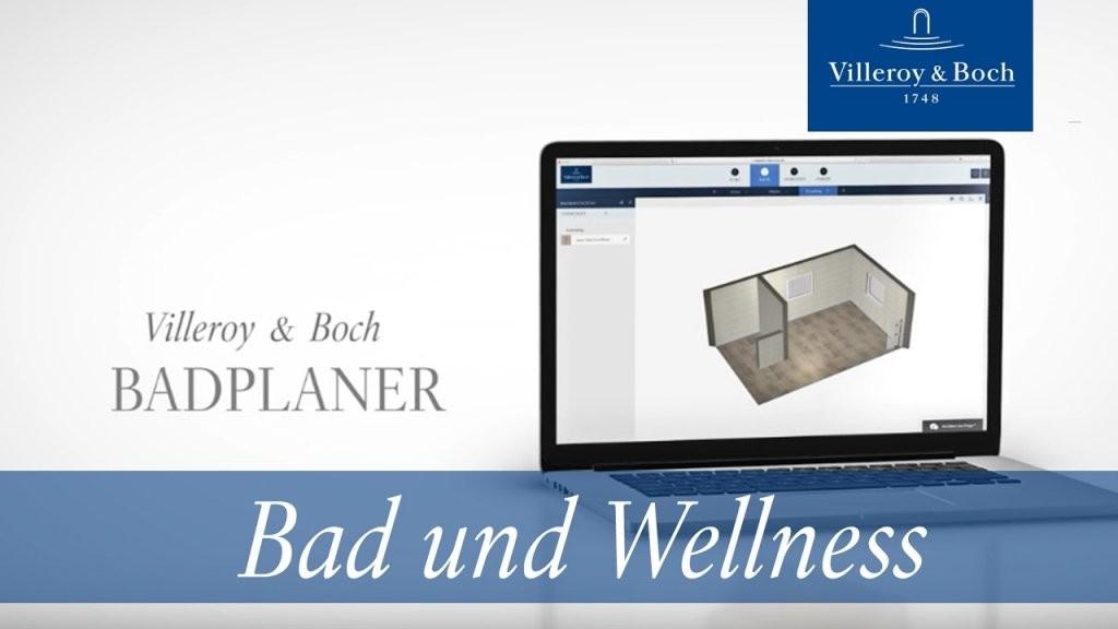 Der Neue Online Badplaner – Mit Wenigen Klicks Zu Ihrem Persönlichen von Badplaner Villeroy Und Boch Bild