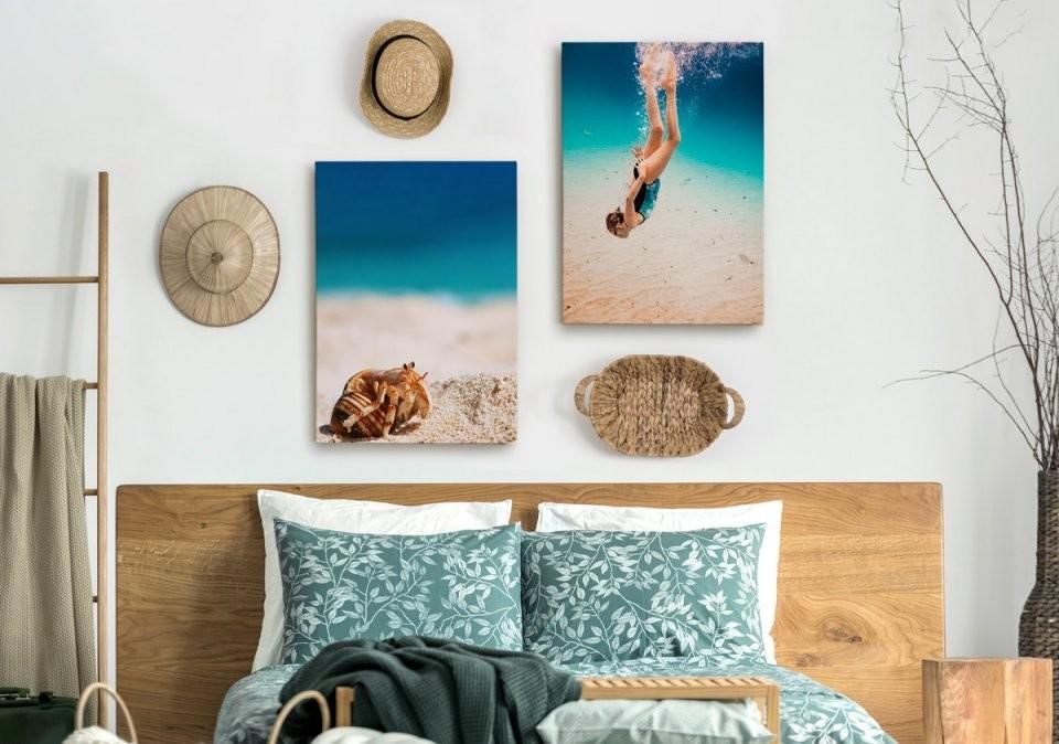 Der Ultimative Ratgeber Für Wandbildmaterialien  Albelli Blog von Leinwand Collage Erstellen Günstig Bild