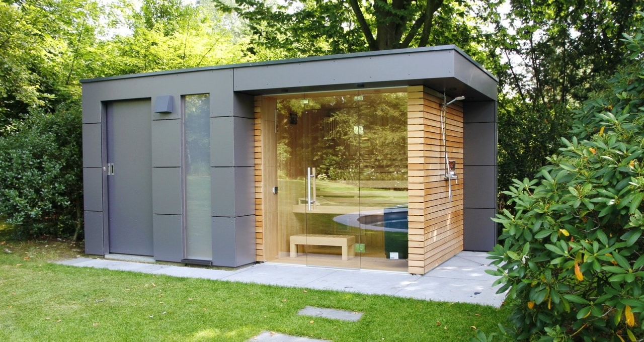 Design Gartenhaus Moderne Gartenhäuser Schicke Gartensauna Auch von Moderne Gartenhäuser Aus Holz Photo