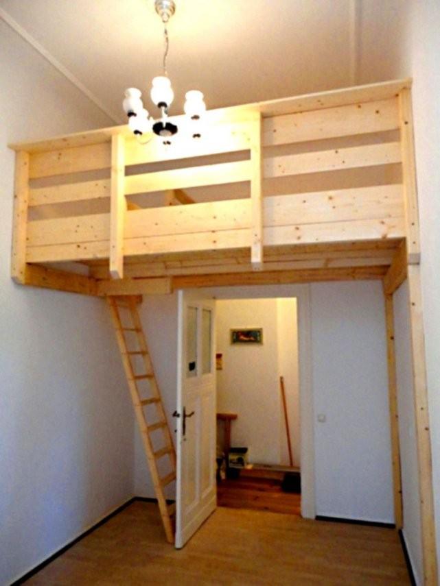 Design Hochbett Schan Oliver Furniture Wood Collection Eiche 90 200 von Hochbett Für Kinder Selber Bauen Bild