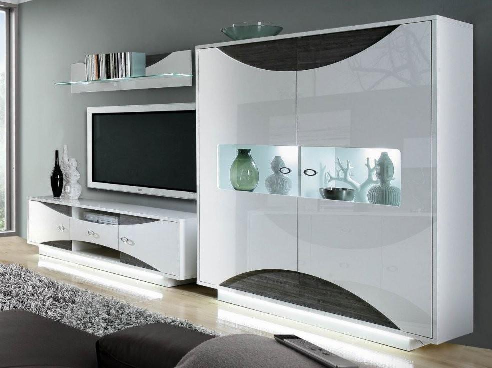Design Wohnwand Weis Hochglanz  Steensrunningclub von Wohnwand Weiß Hochglanz Günstig Photo