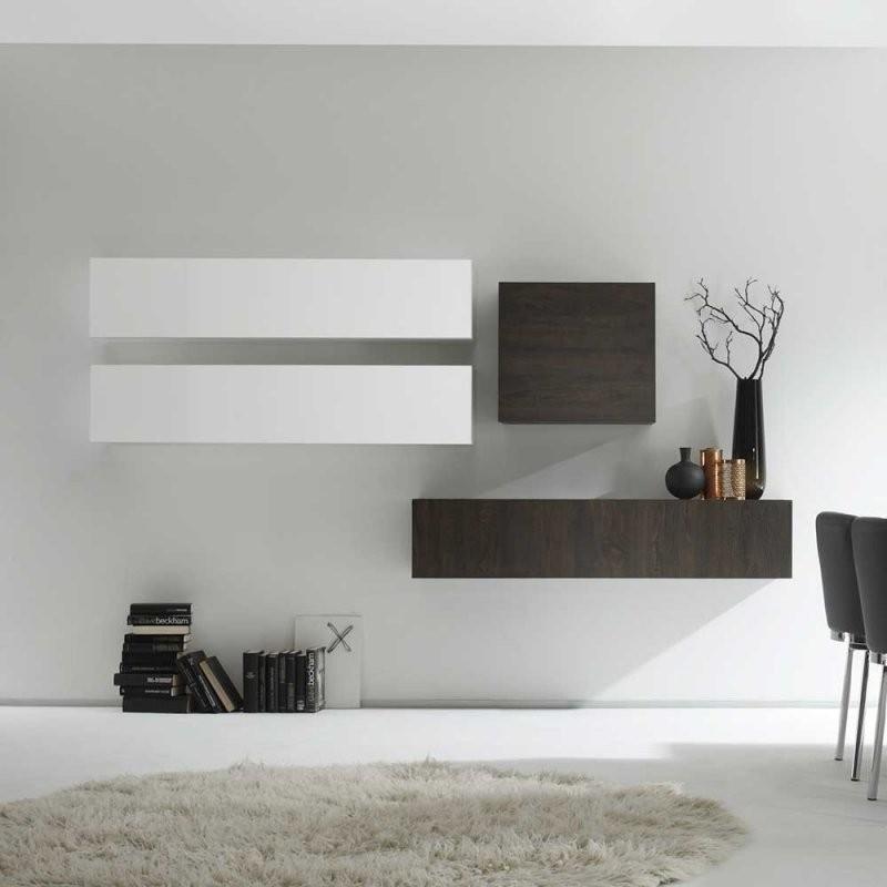 Design Wohnwand Weis Hochglanz  Steensrunningclub von Wohnwand Weiß Hochglanz Hängend Bild