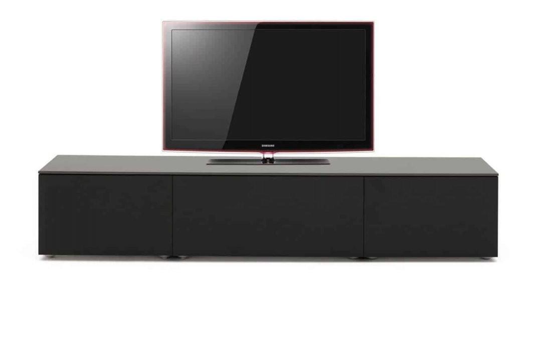 Designer Lowboards Online Kaufen Online Kaufen  Wohnstation von Tv Lowboard Weiß Hochglanz Hängend Bild