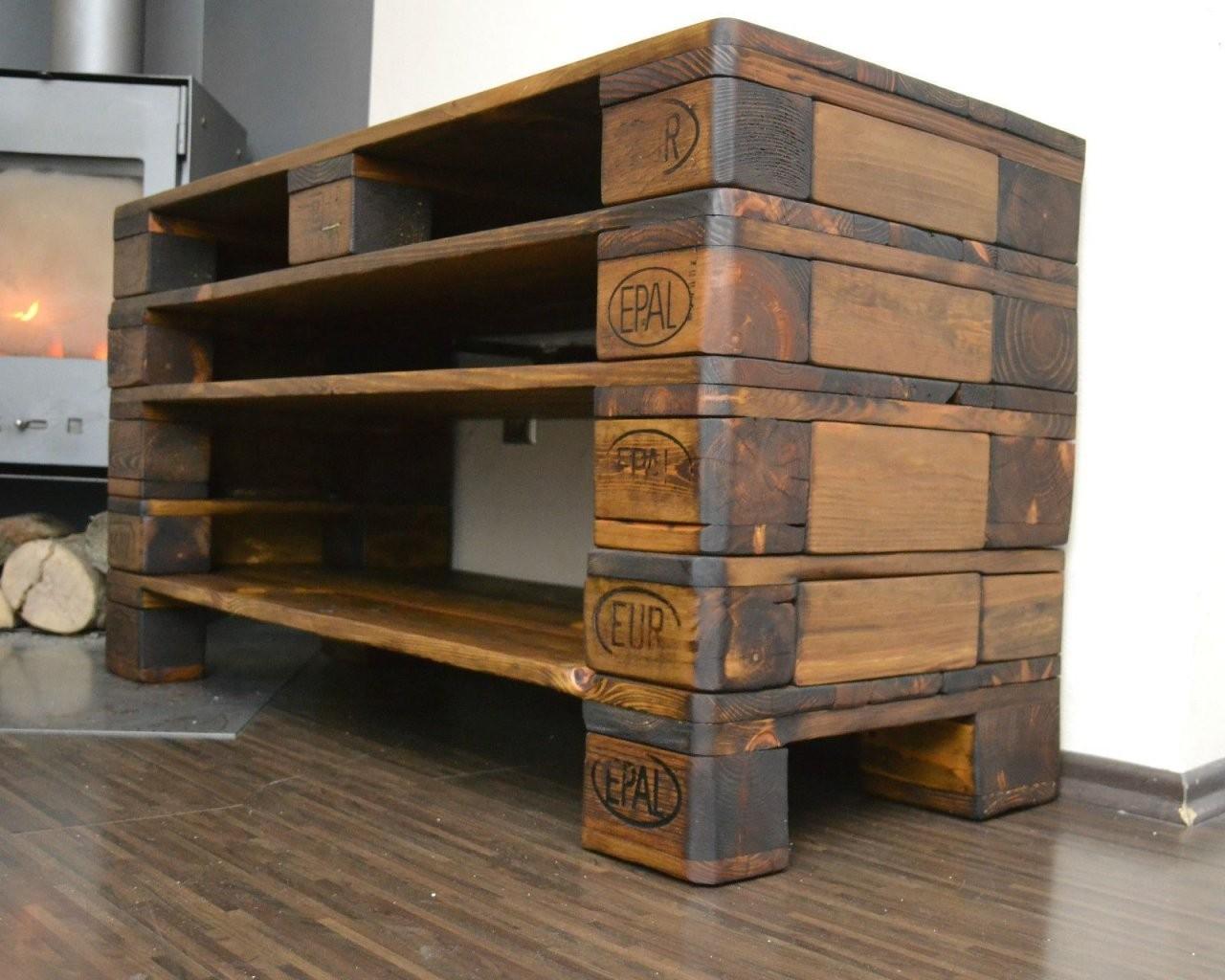 Details About Kommode  Wohnzimmerschrank  Fernsehschrank  Tv von Tv Bank Aus Paletten Photo