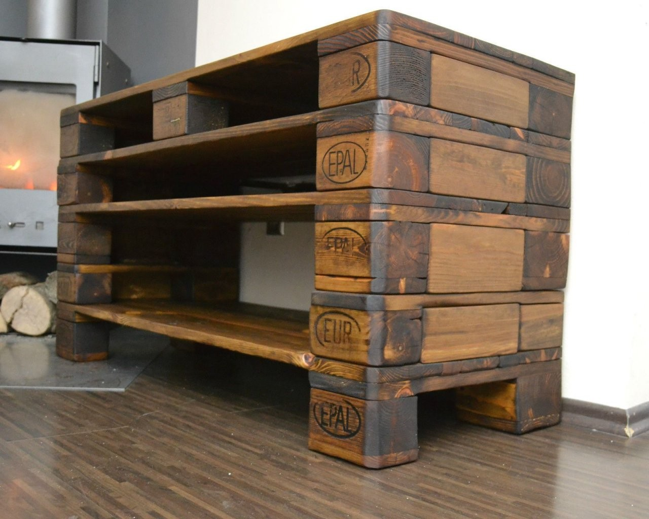 Details About Kommode  Wohnzimmerschrank  Fernsehschrank  Tv von Tv Möbel Aus Europaletten Photo