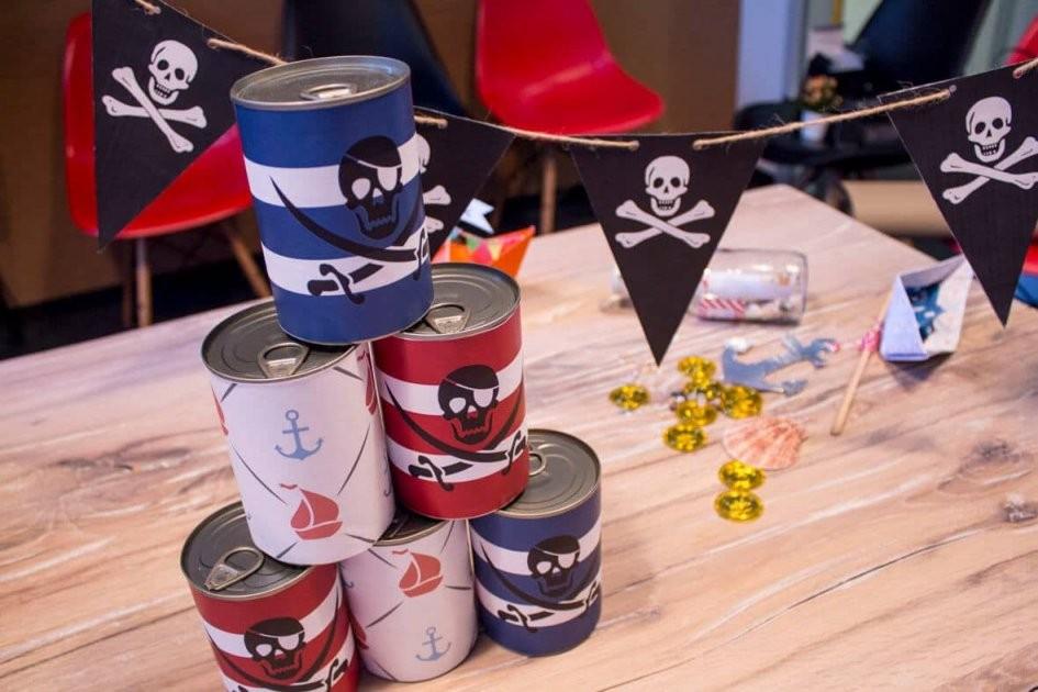 Die Besten Ideen Für Den Ultimativen Piratengeburtstag von Piraten Deko Selber Machen Bild