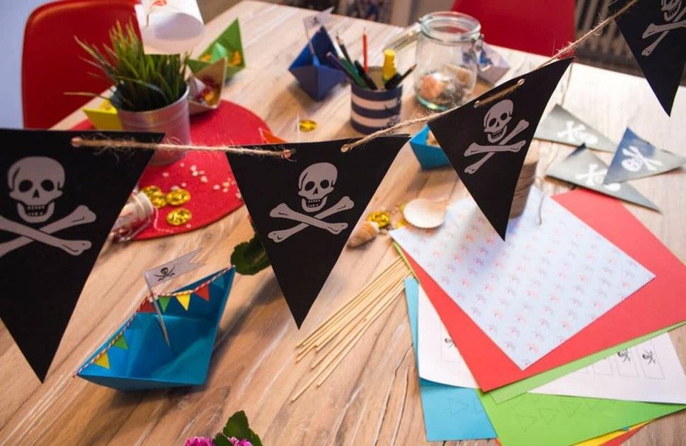 Die Besten Ideen Für Den Ultimativen Piratengeburtstag von Piraten Deko Selber Machen Photo
