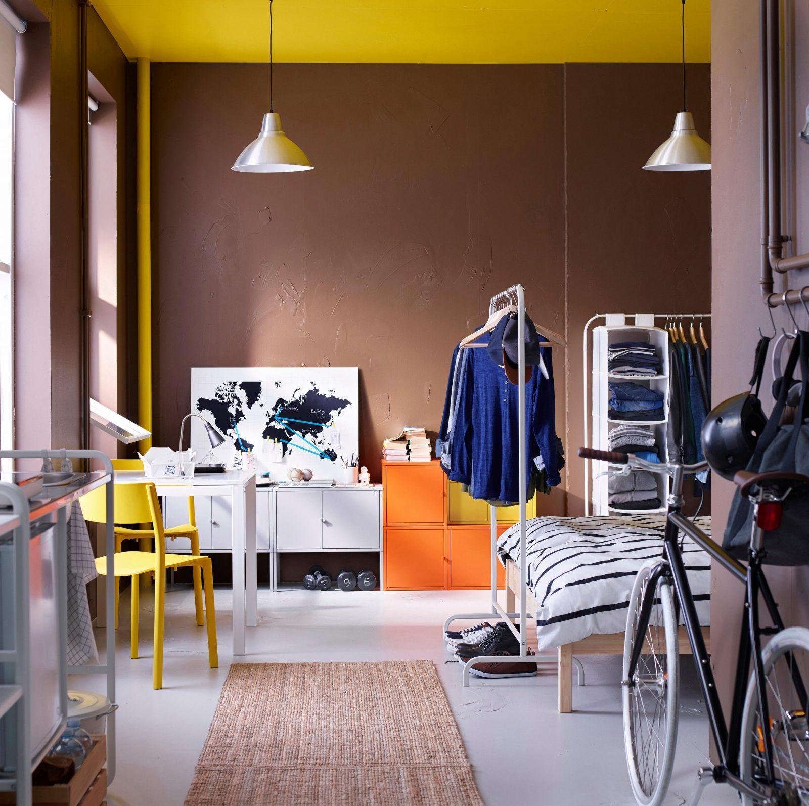 Die Besten Ikeatipps Für Kleine Wohnungen Aus Dem Neuen Katalog von Säule Im Wohnzimmer Gestalten Bild