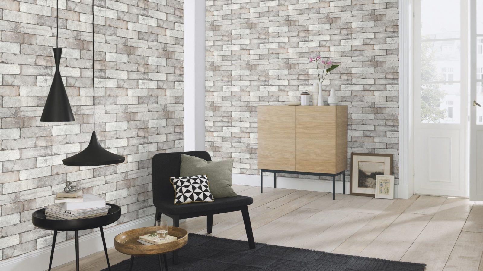 Die Kollektion Factory Iii Kollektion Von Rasch  Jetzt Entdecken von Rasch Factory Stein Optik Mauer Vlies Tapete Bild