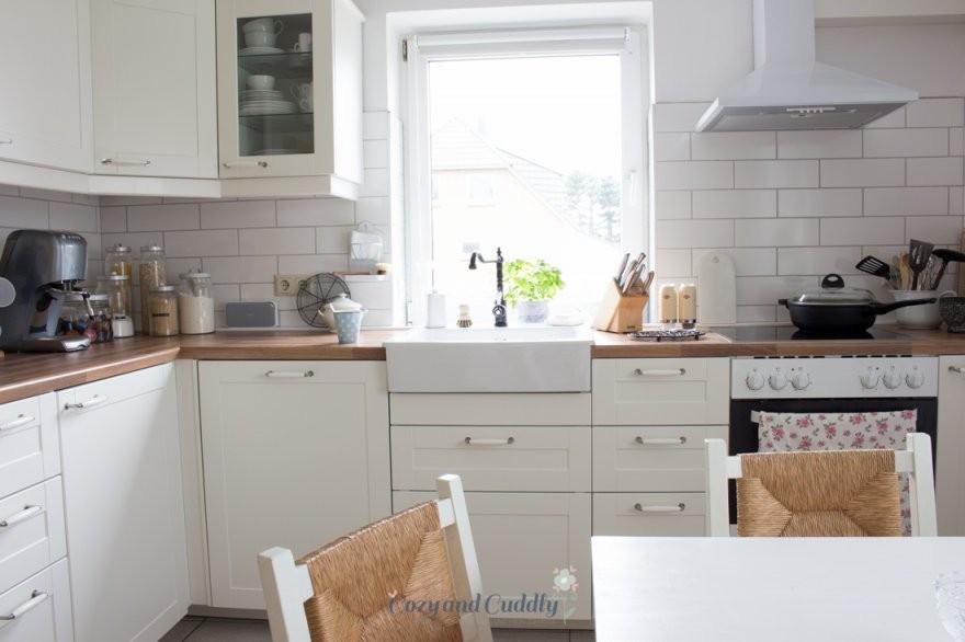 Die Neue Ikeaküche Auf Diesen Post Habe Ich Mich Ewig Gefreut von Ikea Küche Metod Bodbyn Photo