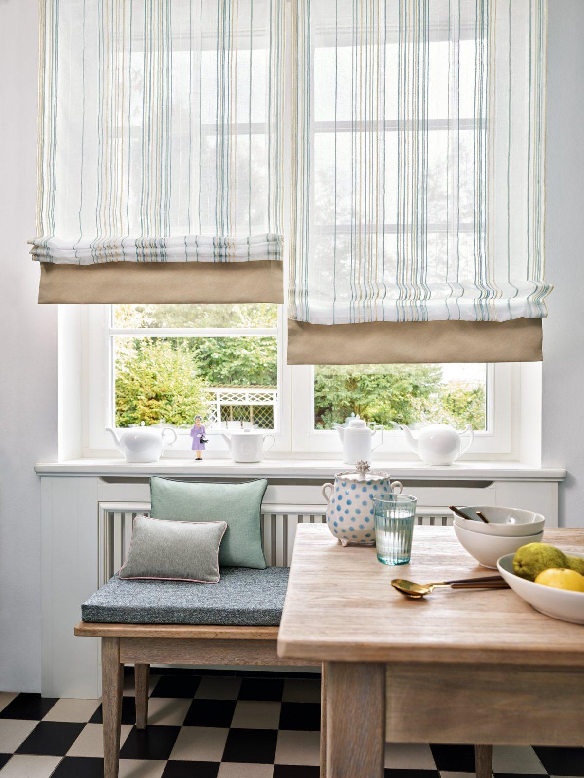 Die Perfekten Stoffe Für Ihr Zuhause  Ado Goldkante von Ado Gardinen Neue Kollektion Bild