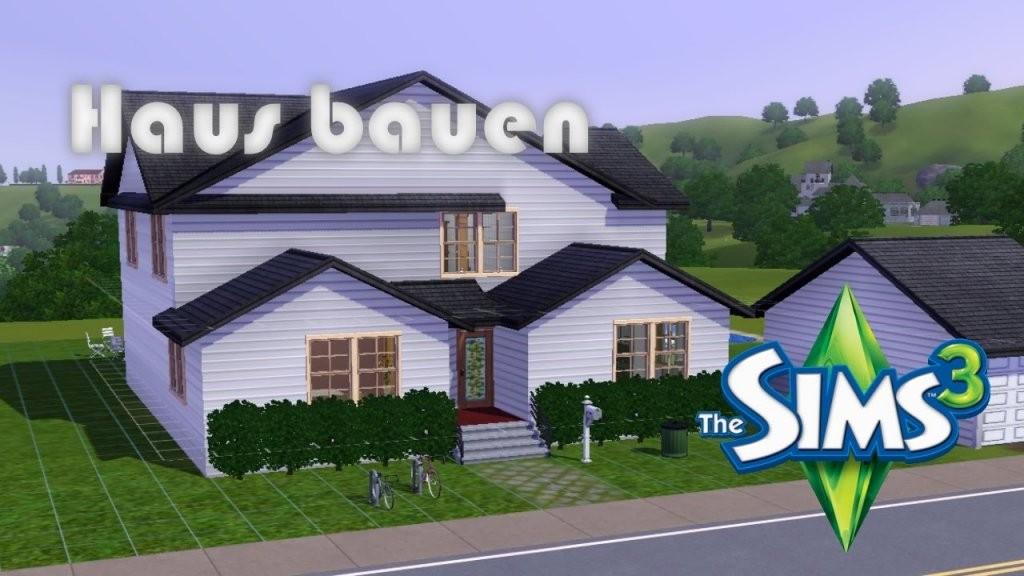 Die Sims 3  Haus Bauen  Youtube von Sims Häuser Zum Nachbauen Bild