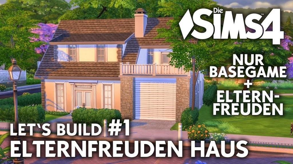 Die Sims 4 Haus Bauen  Elternfreuden Familienhaus 1 Grundriss von Sims 4 Häuser Zum Nachbauen Photo