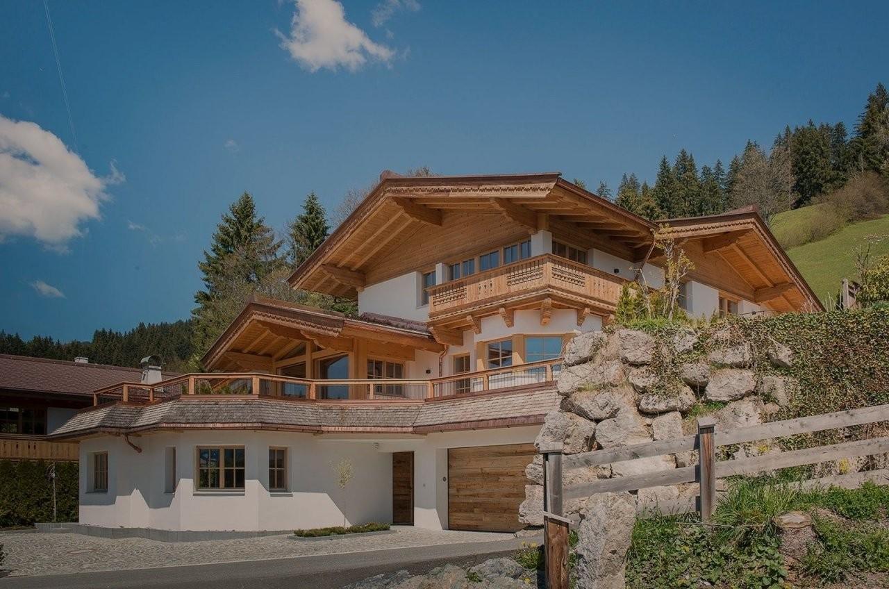 Die Sonne  Landhaus In Kirchberg Bei Kitzbühel Kaufen  Exteriér von Haus Kaufen Tannheimer Tal Bild