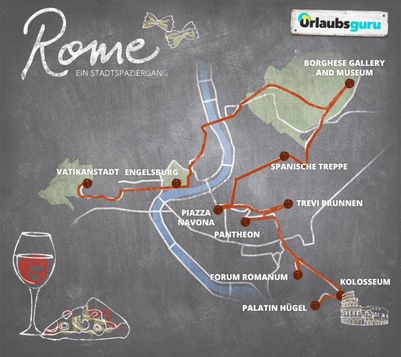 Die Top 10 Sehenswürdigkeiten In Rom  Urlaubsguru von Rom Top 10 Sehenswürdigkeiten Bild