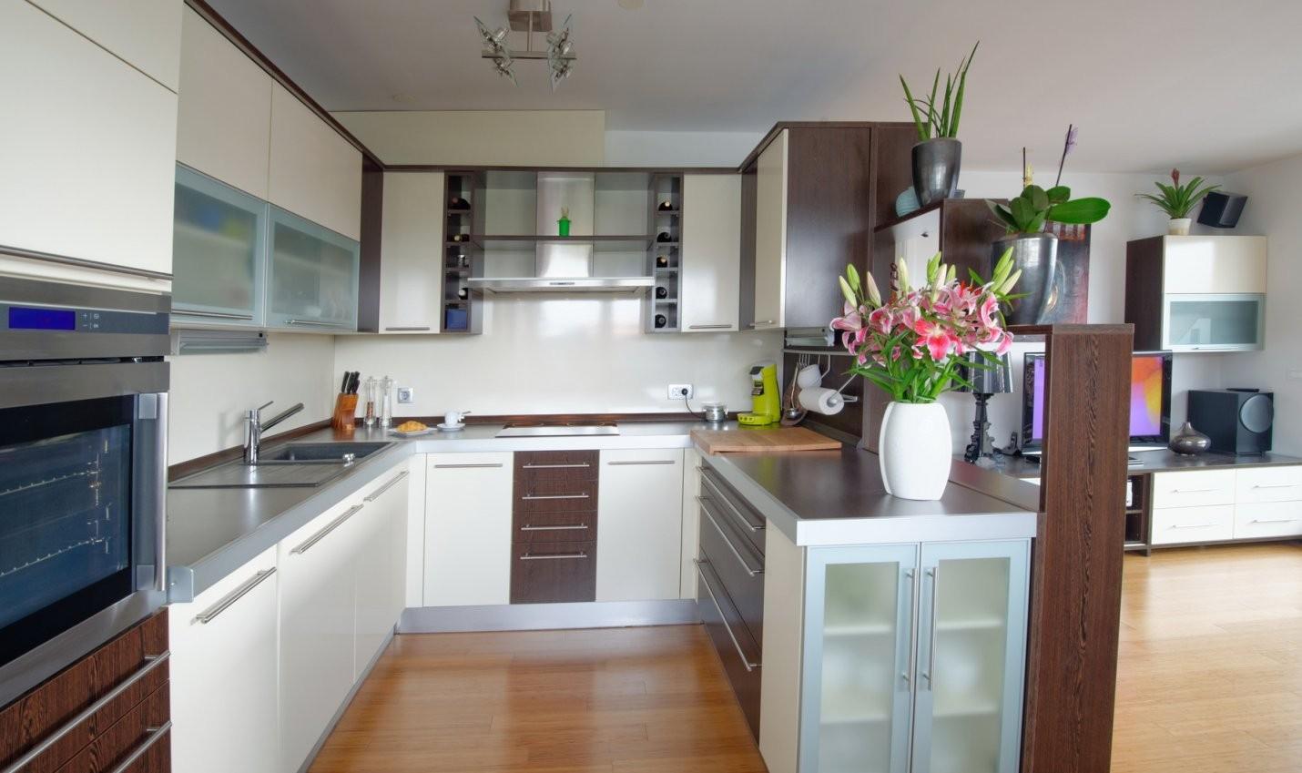 Die Uform Küche  Klassische Küchenform Mit Modernem Stil von Küchen In U Form Günstig Bild
