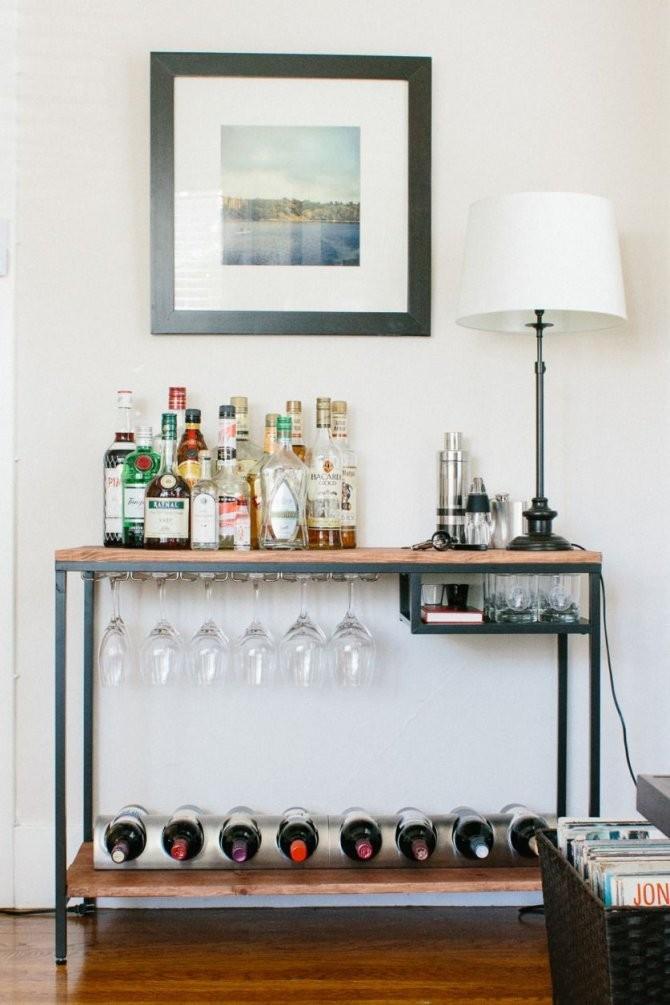 Diese Tolle Bar Lässt Sich Ganz Einfach Selber Bauen Und Ist Eine von Kleine Bar Fürs Wohnzimmer Bild