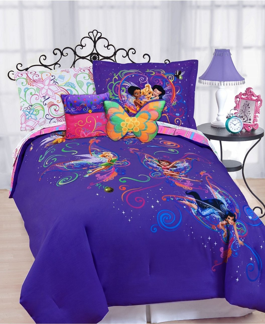 Disney Bedding Surreal Garden Disney Tinkerbell Comforter Sets von Tinker Bell Bed Sets Bild
