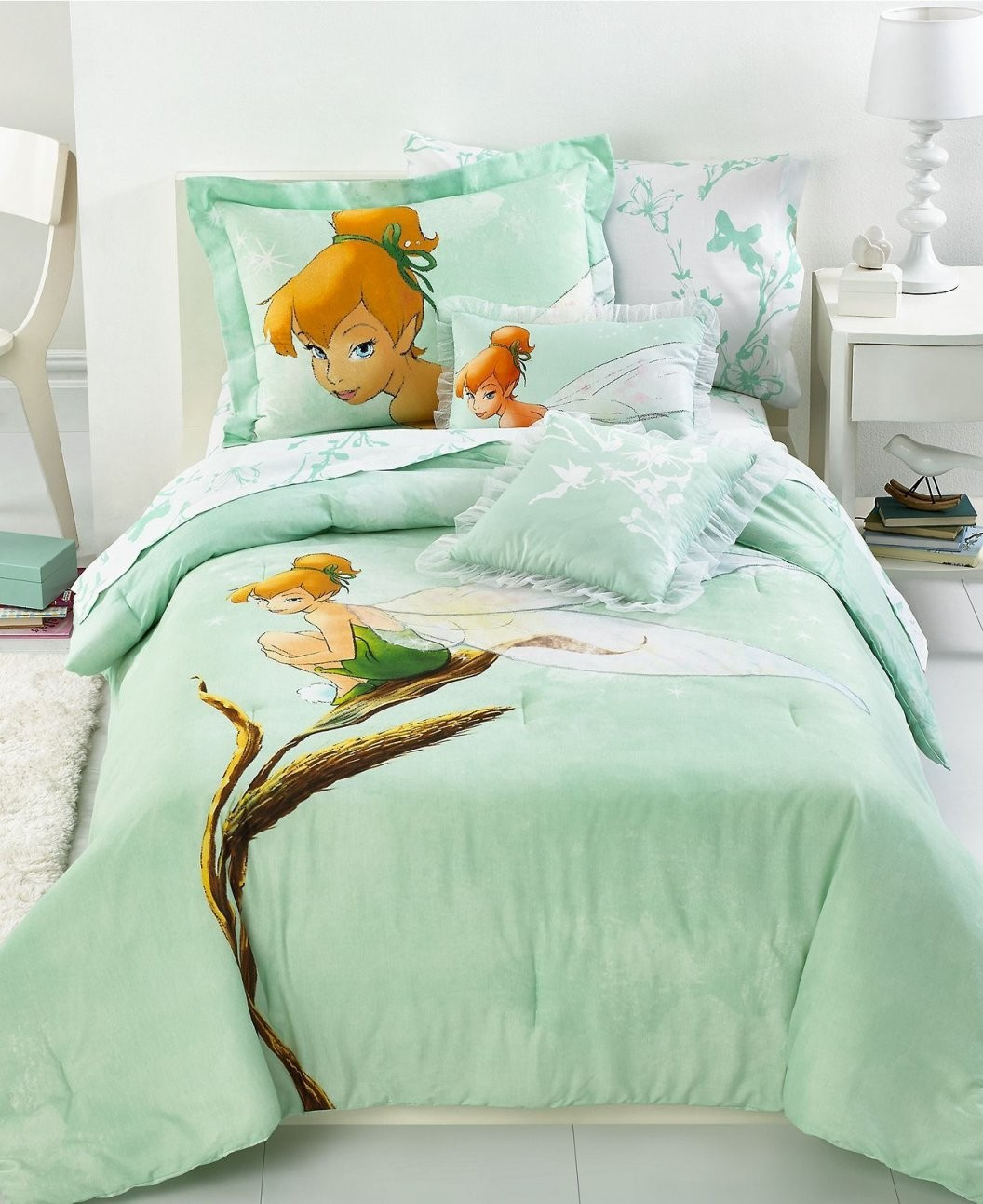 Disney Bedding Tinkerbell Tink Watercolor Comforter Sets  Kids von Tinker Bell Bed Sets Bild