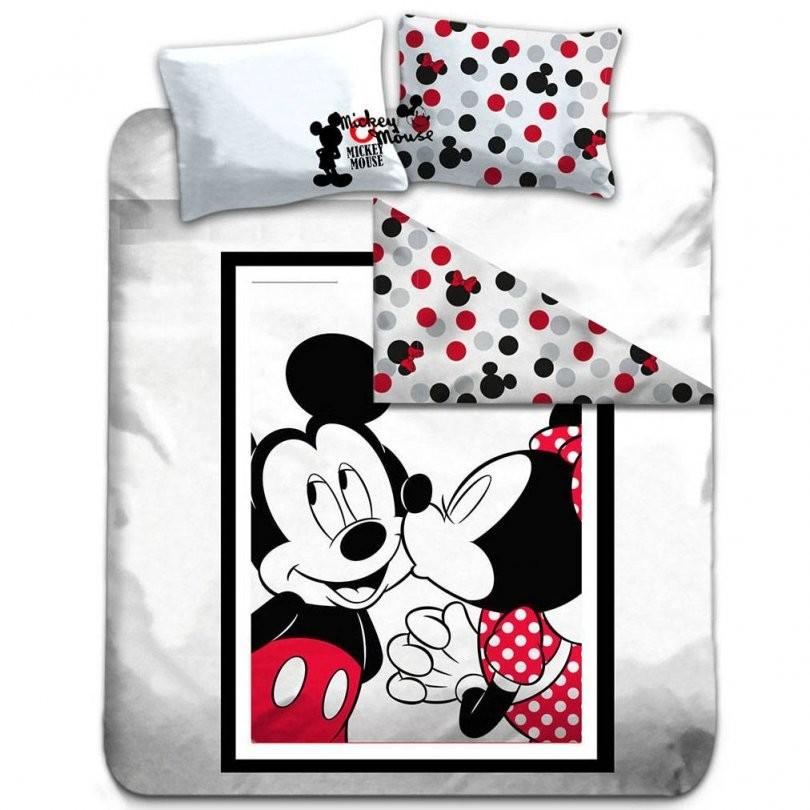 Disney Mickey Mouse Dekbedovertrek Tweepersoons Katoen 240X220 + von Mickey Mouse Bettwäsche 200X200 Photo