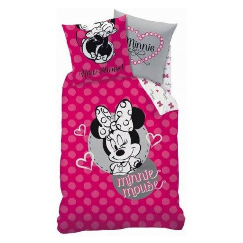 Disney Minnie Mouse Bettwäsche 80 X 80 Cm  135 X 2  Real von Mickey Mouse Bettwäsche 200X200 Photo