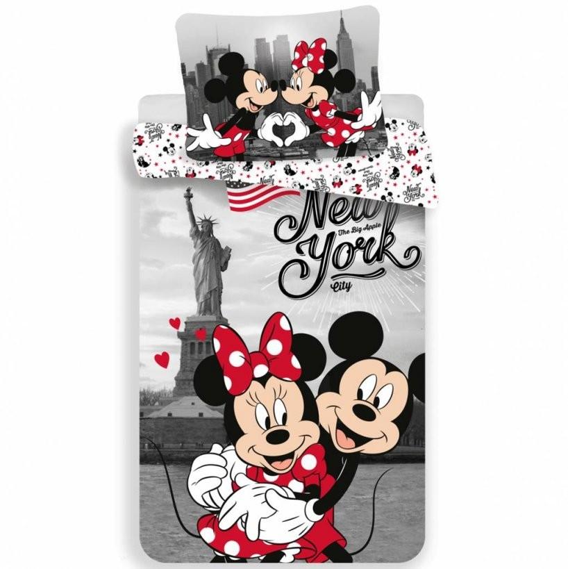 Disney Minnie Mouse Dekbedovertrek New York 140X200Cm  Simbashopnl von Mickey Mouse Bettwäsche 200X200 Bild