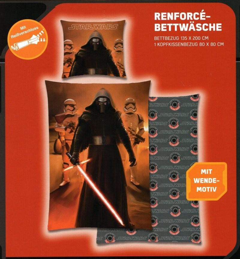 Disney Star Wars Bettwäsche Kylo Ren  Episode 7  135 X 200 Cm von Star Wars Bettwäsche 155X220 Bild