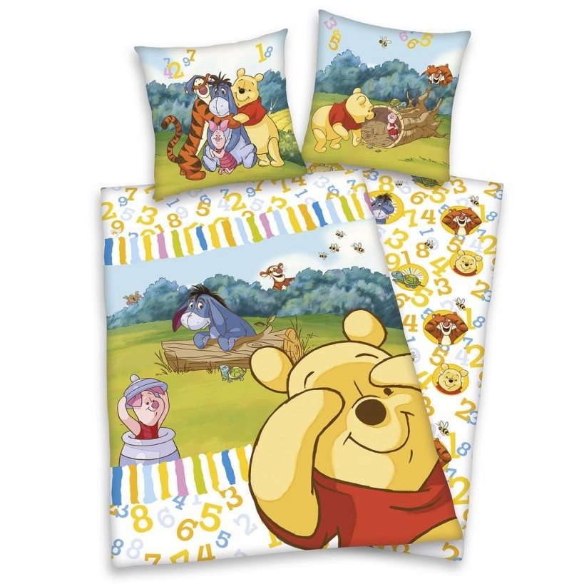 Disney Winnie Puuh Biberbettwäsche 40X60  100X135 Cm Online Kaufen von Bettwäsche 100X135 Biber Bild