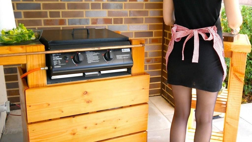 Diy Barbecue Grill Selber Bauen  Anleitung  Teil 1  Youtube von Außenküche Selber Bauen Holz Bild
