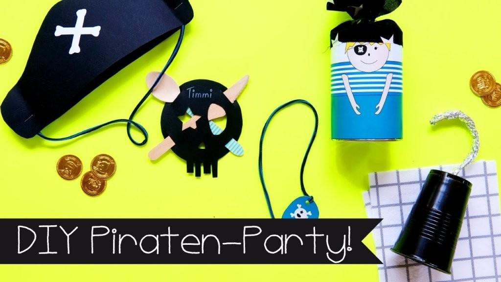 Diy  Basteln Mit Kindern I Piratenparty  Partydeko von Piraten Deko Selber Machen Bild
