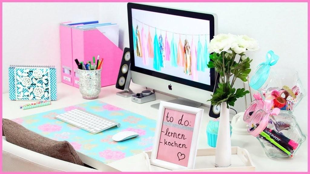 Diy Desk Makeover  Süße  Nützliche Organisation  Dekoration Für von Schreibtisch Deko Selber Machen Photo