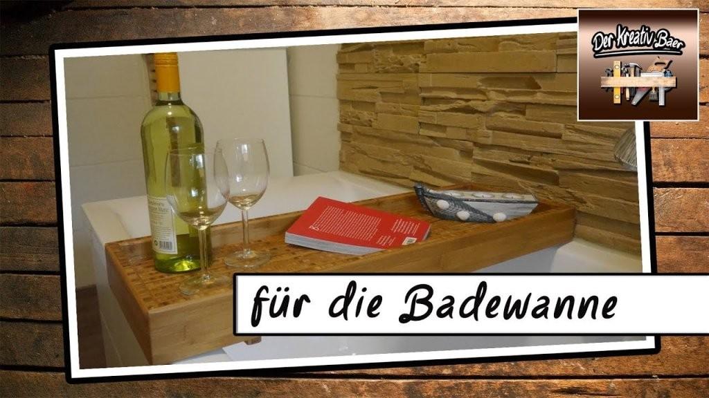 Diy Deutsch  Für Die Badewanne  Holz  Youtube von Badewanne In Holz Einfassen Photo