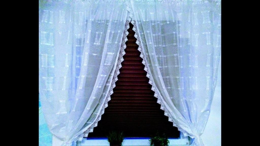 Diy Gardine Im Landhausstil Nähen  Zuschneiden Kräuselband von Gardinen Mit Kräuselband Aufhängen Bild