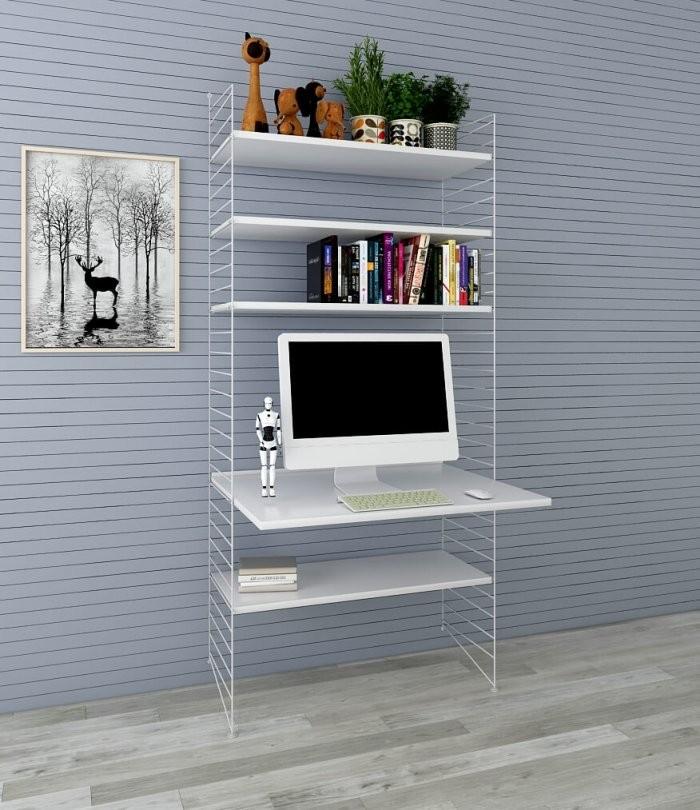 Diy Holz Wandregal Im Wohnzimmer  Expand Paper Möbel Supplier von Regal An Der Wand Befestigen Bild