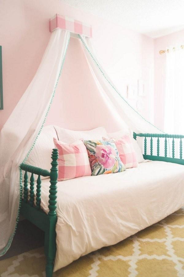 Diy Ideen Wie Sie Einen Baldachin Im Kinderzimmer Selber Machen von Betthimmel Kinderbett Selber Machen Bild