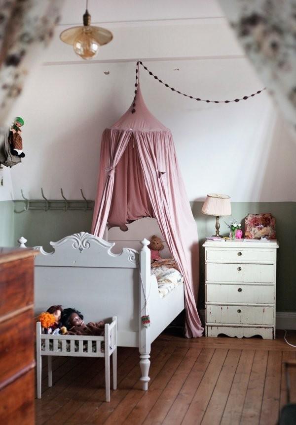 Diy Ideen Wie Sie Einen Baldachin Im Kinderzimmer Selber Machen von Betthimmel Kinderbett Selber Machen Photo