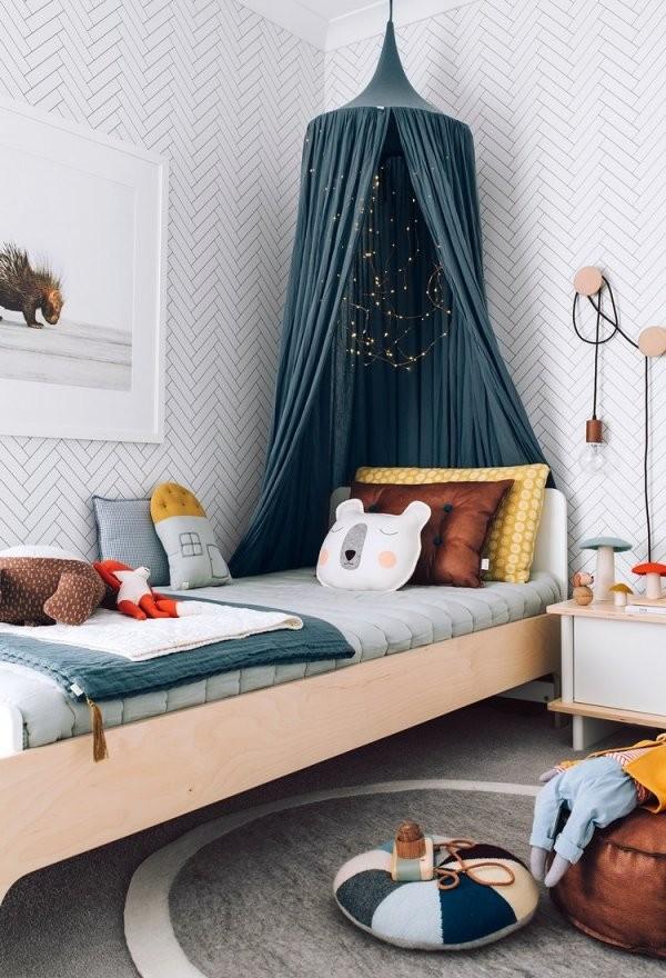 Diy Ideen Wie Sie Einen Baldachin Im Kinderzimmer Selber Machen von Himmelbett Kind Selber Bauen Photo