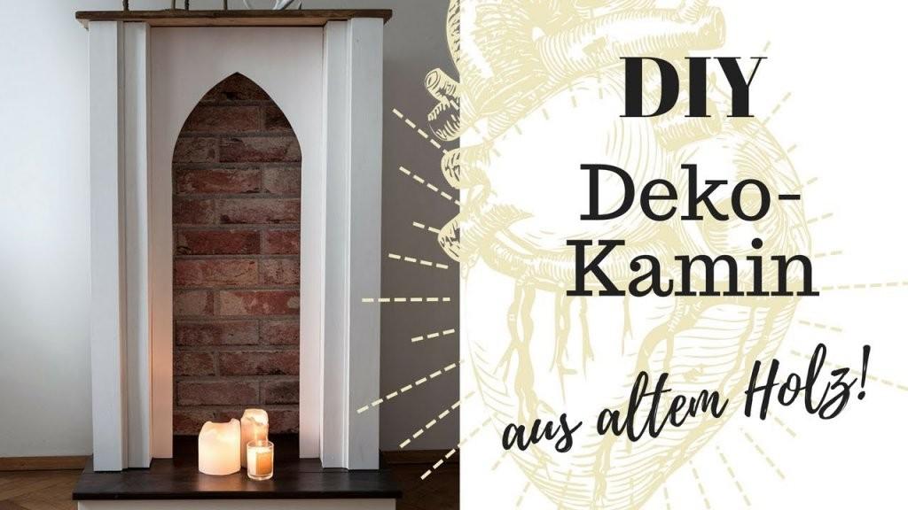 Diy Kaminkonsole Selber Bauen  Unter 60 Euro  Youtube von Deko Kaminumrandung Selber Bauen Bild