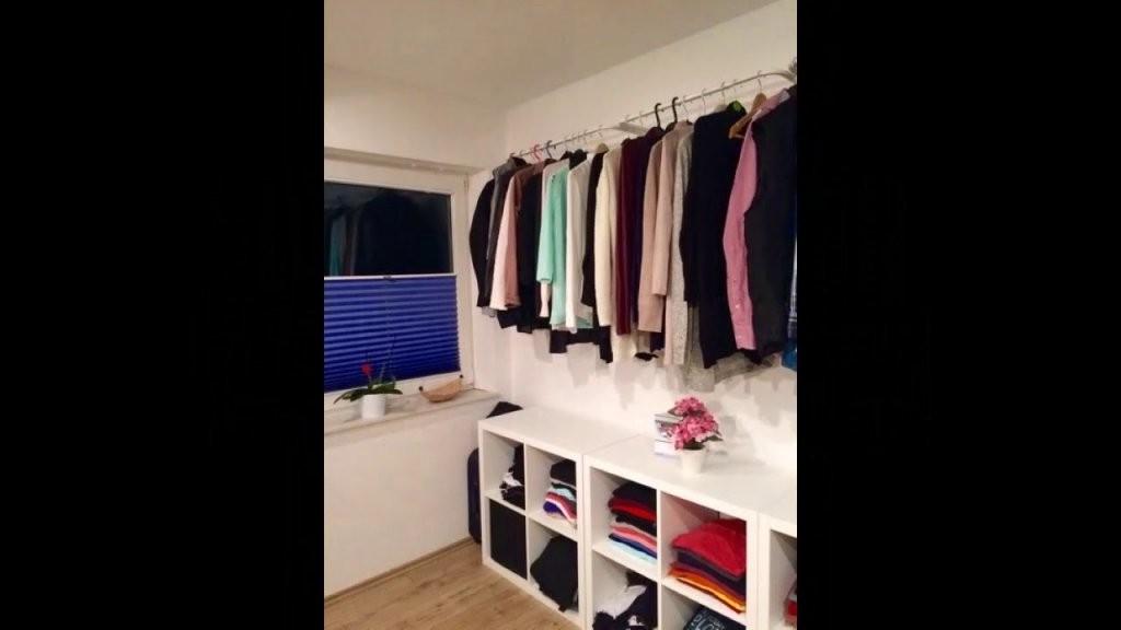 Diy Kleiderschrank  Ankleidezimmer Für Unter 120 € Selber Bauen von Begehbarer Kleiderschrank Selber Bauen Ikea Photo