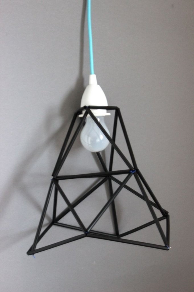 Diy Lampe Draht von Lampenschirm Drahtgestell Selber Machen Bild