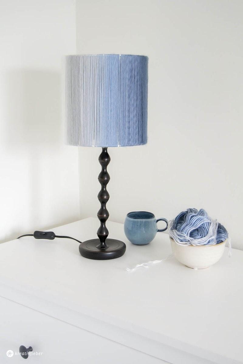 Diy Lampenschirm Aus Wolle von Lampenschirm Gestell Selber Machen Photo