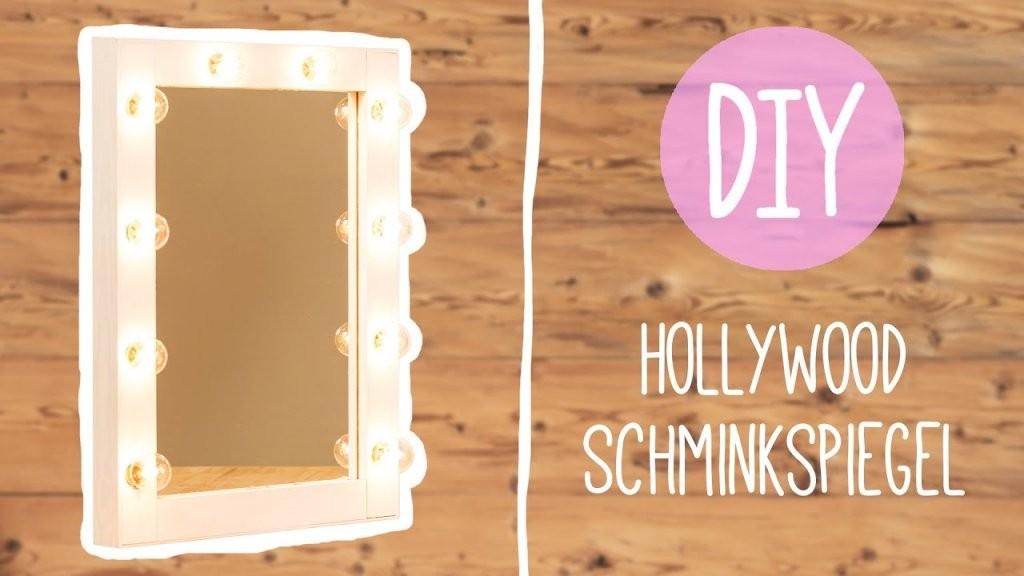 Diy Mit Nina Moghaddam Hollywood Schminkspiegel ♡ ♡ ♡  Youtube von Schminkspiegel Mit Beleuchtung Ikea Photo