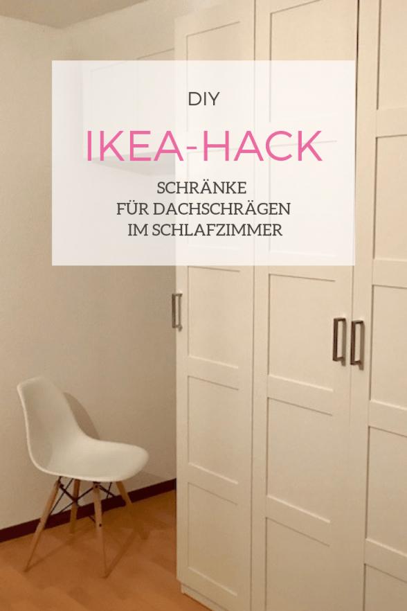 Diy Schränke Für Dachschrägen Selbstgebaut  Mamaskind von Kleiderschrank Für Dachschräge Ikea Bild