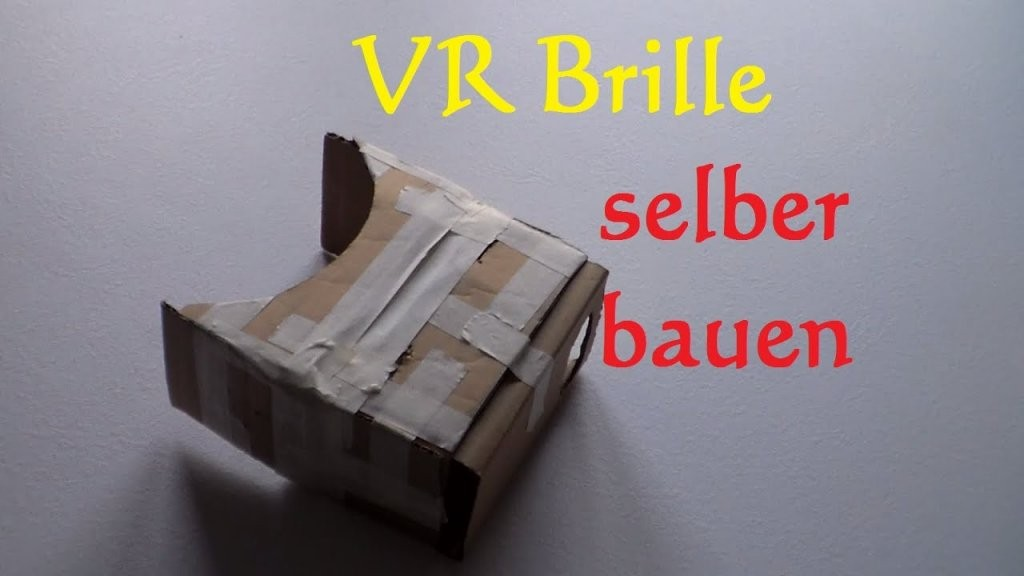 Diy Vr Brille Selber Bauen  Virtual Reality Brille Selber Machen von Fpv Brille Selber Bauen Bild