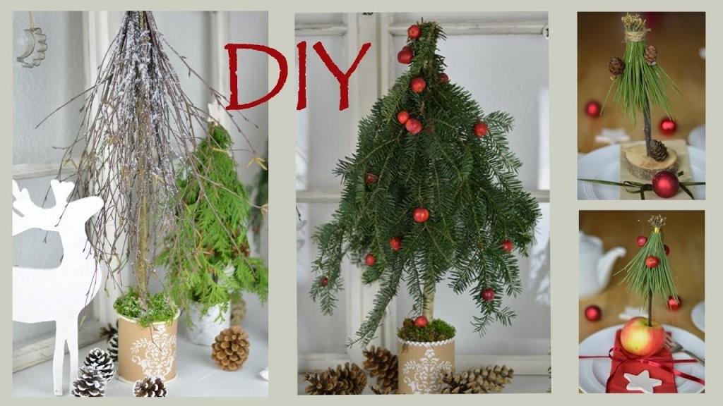 Diy  Weihnachtsdeko Selber Machen  Bäume Aus Zweigen Und Ästen I von Weihnachtsdeko Für Draussen Selber Basteln Photo