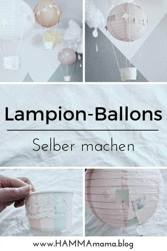 Diydekoidee ° Heißluftballons Für Das Kinderzimmer Selber Machen von Deko Ideen Babyzimmer Selber Machen Photo