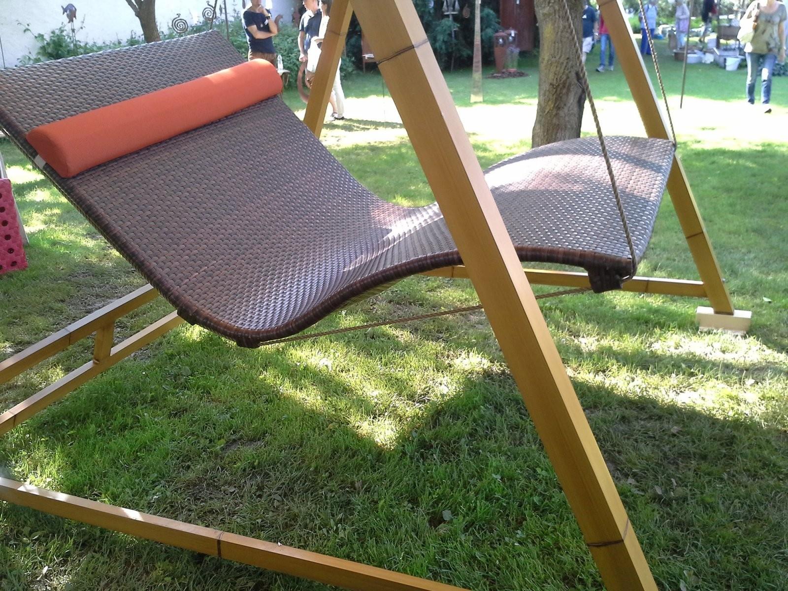 Doppelliege Vintage  Schwebeliegeat von Heaven Swing Doppelliege Gebraucht Photo