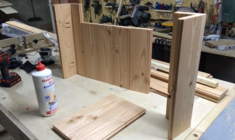 Douglasie Pflanzkübel Selber Bauen  Holzprojekte  Pflanzkübel von Holz Pflanzkübel Selber Bauen Bild